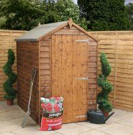Cotswold Overlap Windowless 6x4 Apex Shed