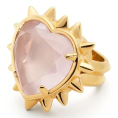 Coach Tony Duquette New Spike Heart Ring