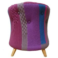 Knitted Furniture and Decorative Pillows by Melanie Porter, Stunning Modern…