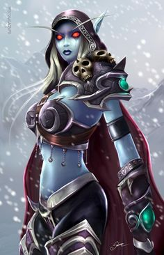 Lady Sylvanas - World of Warcraft.