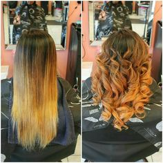 After a #balayage technique we added hues of #rosegold and #cumin for a soft blended look -Victoria #bboutiquesalon