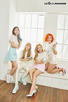 THEYRE HONESTLY SO PRETTY HELP << IK SAME ILTHEM // mamamoo whoo-hoo