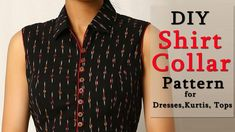 How to Make Shirt Collar | Shirt Collar Pattern in a Professional Way - YouTube
