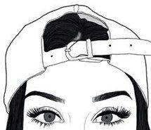 Resultado de imagen de dibujos de chicas  dibujo  Pinterest