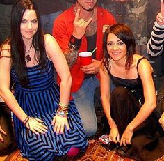 Amy Lee of Evanescence and Lacey Sturm, former lead singer of Flyleaf! Lacey Sturm, Kristen May, Snow White Queen, Amazing Amy, Bring Me To Life, Amy Lee Evanescence, Music Of The Night, Beautiful Lyrics, Celebs