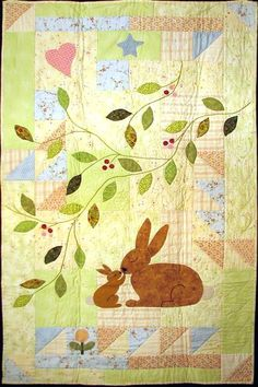 Baby Quilt Patterns Free Pinterest Applique Baby Quilts Baby Quilt Patterns Free Download Some Bunny Loves You A Baby Quilt Pattern By Gretchen Gibbons At Celebration Of Life Designs Applique