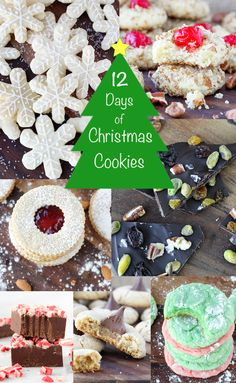 12 Days of Christmas Cookies Round Up 2014 | American Heritage Cooking