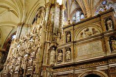 Detalles de la Catedral de Toledo, que siempre sorprenden y llaman poderosamente la atención artística e histórica.
