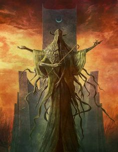Hastur by Jason Engle Gothic Horror, Arte Horror, Horror Art, Dark Fantasy Art, Fantasy Rpg, Dark Art, Lovecraft Cthulhu, Hp Lovecraft, Eldritch Horror