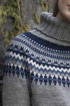 Flerfärgsstickad damtröja Novita Nalle | Novita knits Icelandic Sweaters, Wool Sweaters, Knitting Patterns, Knitting Ideas, Knitted Hats, Knitwear, What To Wear, Men Sweater, Turtle Neck