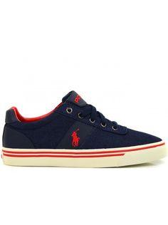 47f0bbbf3dc RALPH LAUREN HANDFORD HEREN SCHOENEN | NAVY - Online sneakers kopen doe je  op Fashion Foot Wear