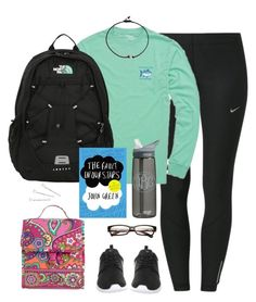 Confidence is beautiful no matter what your size, no matter your weight, be confident in who you are. You're beautiful. by kaley-ii on Polyvore featuring polyvore, fashion, style, NIKE, The North Face, Conair, Vera Bradley, Katie and CamelBak