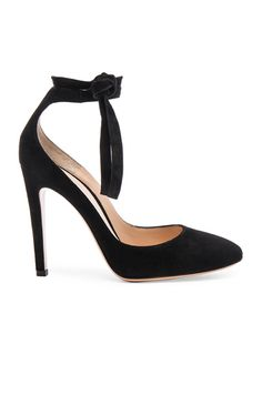 Shop for Gianvito Rossi Suede Carla Pumps in Black at FWRD. Free 2 day shipping and returns.