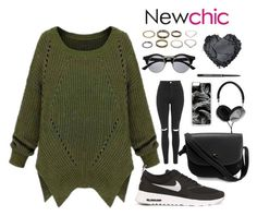 """""""newchic"""" by whykristina ❤ liked on Polyvore featuring Retrò, NIKE, Topshop, Zero Gravity, Frends, women's clothing, women, female, woman and misses"""