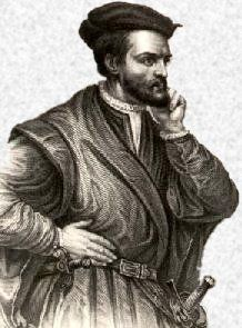 JACQUES CARTIER est né à SAINT-MALO en BRETAGNE le    31 Décembre 1491. Son nom de baptême est :    Jakez KARTER.    Il est mort le 1er Septembre 1557 de la peste à LIMOELOU    commune proche de SAINT-MALO.