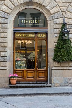 Rivoire Pasticceria and Bar in Florence, Italy  ✈✈✈ Here is your chance to win a Free Roundtrip Ticket to Florence, Italy from anywhere in the world **GIVEAWAY** ✈✈✈ https://thedecisionmoment.com/free-roundtrip-tickets-to-europe-italy-florence/