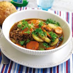 Recept på Köttfärsgryta med potatis från - Hemmets Journal