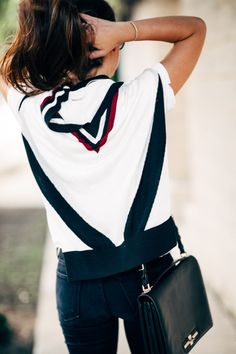 Put a bit of prep in your step. Style Outfits, Fall Outfits, Casual Outfits, Fashion Outfits, Casual Clothes, Sport Fashion, Cute Fashion, Style Fashion, Simple Street Style