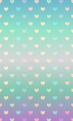 Iphone Wallpaper - Gradient pastel heart wallpaper: - Iphone and Android Walpaper Phone Wallpaper Images, Cute Wallpaper For Phone, Heart Wallpaper, Love Wallpaper, Cellphone Wallpaper, Iphone Wallpaper, Rainbow Wallpaper, Screen Wallpaper, Pattern Wallpaper