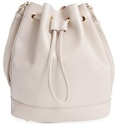 POVERTY FLATS by rian 'Shopper' Bucket Bag - Grey - $58.00
