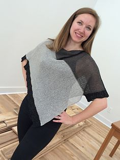 Lefty - pattern on Ravelry. A Poncho with a Sleeve. Like the idea.