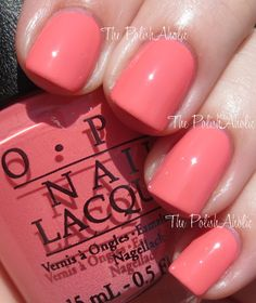 OPI - Sorry I'm Fizzy Today (Coca-Cola Collection, summer 2014)