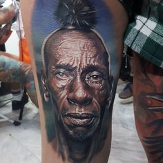 Tattoo artist Draz Palaming color realism tattoo   Quezon City, Philippines