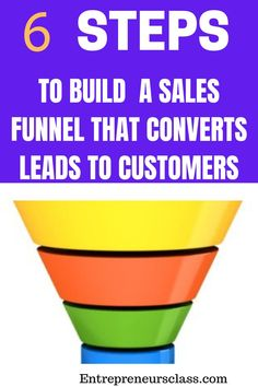 Sales Funnel: Looking for the best ways to your profits? We share step by step guide to creating high converting automated sales funnel that convert leads into raving customers. Email Marketing, Content Marketing, Internet Marketing, Affiliate Marketing, Marketing Ideas, Earn More Money, Make Money Online, How To Make Money, The Secret Book