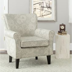 live in the lap of luxury with this beautifully designed accent chair with wing back and nailhead detailing the upholstery is perfectly accented bu2026