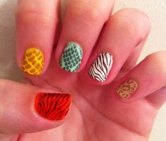 Maynicure Challenge #14 - Inspired by an Animal.   Animal Print Nails