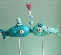 Fish are a unique and quirky animal to use as a wedding theme.  www.wedding411ondemand.com