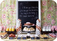 winter baby shower ideas | Baby Shower Brunch – How to Plan Your Next Menu