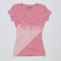 Teikirisi V-Neck Women's Pink, $22, now featured on Fab.