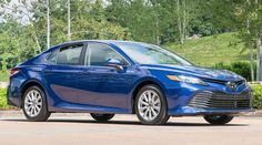 2019 Toyota Camry midsize family sedan buying guide covering prices, specifications, trim levels, engines, interior space and photos. Car Buying Guide, Buying New Car, Toyota Camry, Mid Size Sedan, Most Popular Cars, Camry Se, Gasoline Engine, Automotive News, Car Shop