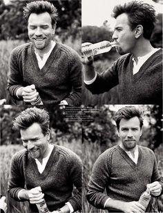Ewan McGregor (the photobooth series)