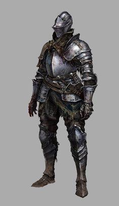 圖 11 圖說 流浪騎士的裝備。品質良好的盔甲為了旅途跟戰鬥而經過了調整,也有著一些傷痕