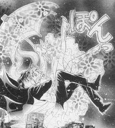 "Tuxedo Mask (Mamoru Chiba) & Usagi Tsukino from ""Sailor Moon"" series by manga artist Naoko Takeuchi."