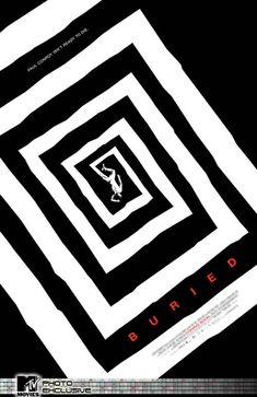 """The new Saul Bass-inspired poster for Rodrigo Cortes' """"Buried"""" starring Ryan Reynolds. Cool Poster Designs, Poster Design Inspiration, Design Poster, Moodboard Inspiration, Film Inspiration, The Reader, Best Movie Posters, Cool Posters, Retro Posters"""