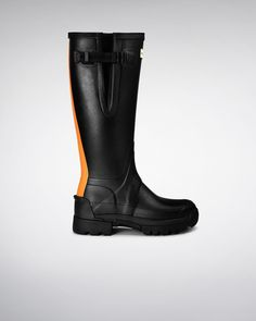 Women's Balmoral Side Adjustable 3Mm Neoprene Wellington Boots   Official Hunter Boots Site
