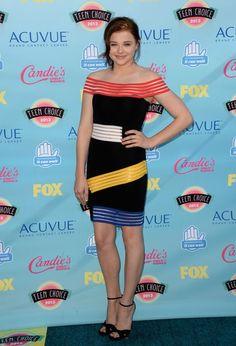Teen Choice Adwards 2013 Alfombra Roja | Ella es Fashion - Chloe Grace Moretz