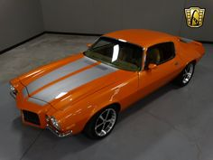 This high quality Pro-Touring built Camaro was built by a paint and body man with 30 years of experience. There is great attention to detail in this 1971 Camaro. The paint is simply stunning, as would be expected from a professional painter and body person. http://gatewayclassiccars.com/louisville/1971/chevrolet/camaro-S806.html#sthash.ZAMHYza2.dpuf