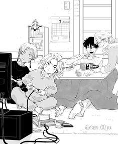 Snape Harry, Mikey, Manga Anime, Chibi, Avengers, Tokyo, Fan Art, Cute, Twitter