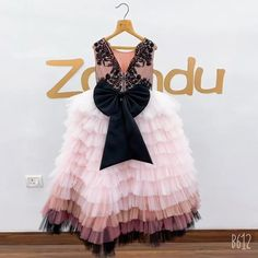 Baby Pageant Dresses, Pretty Quinceanera Dresses, Baby Girl Party Dresses, Dresses Kids Girl, Flower Girl Dresses, Gowns For Girls, Frocks For Girls, Dress For Girl Child, Baby Girl Dress Patterns