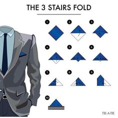 pocket square no tie Pocket Square Folds, Pocket Square Styles, Pocket Squares, Tie Knot Styles, Tie A Necktie, Der Gentleman, Mens Fashion Suits, Men's Fashion, Men Style Tips