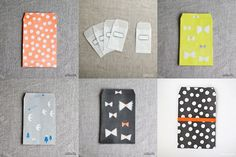 envelopes and pockets from Uguisu