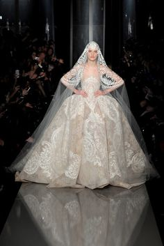 Paris Haute Couture Collections Spring/Summer 2013: Elie Saab