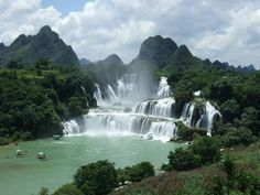 Cascate Detian - CINA, VIETNAM