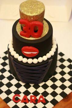 Rock horror show cake