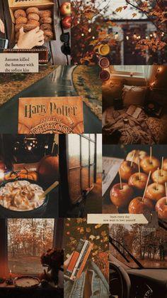 Fall Background Wallpaper, Cute Fall Wallpaper, Halloween Wallpaper, Bebidas Do Starbucks, Harry Potter Wallpaper, Harry Potter Aesthetic, Autumn Cozy, Autumn Aesthetic, Fall Pictures