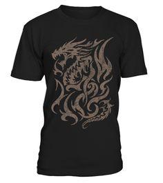 Viking - Vintage Tribal Dragon  #birthday #october #shirt #gift #ideas #photo #image #gift #costume #crazy #nephew #niece